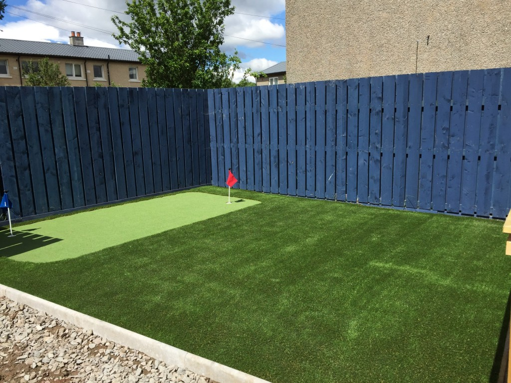 Back Garden In Motherwell Lanarkshire Near Glasgow Using Our Astro